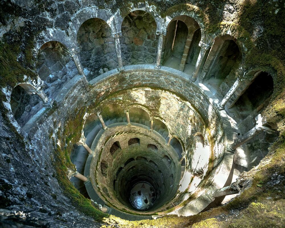Portugal Sintra Inverted Tower