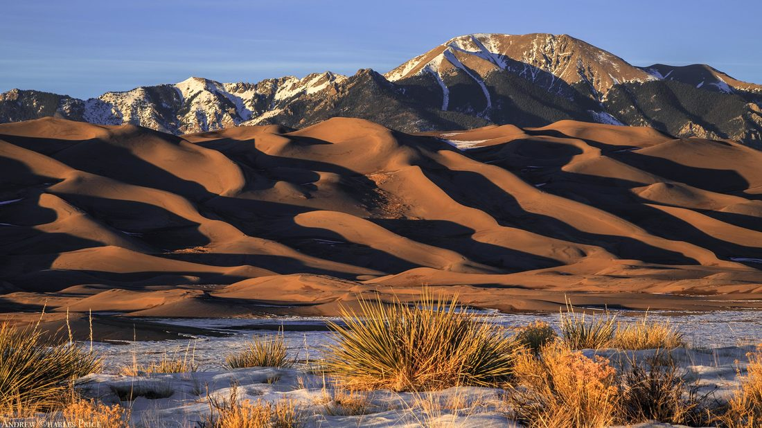 Colorado Great Sand Dunes Sunset
