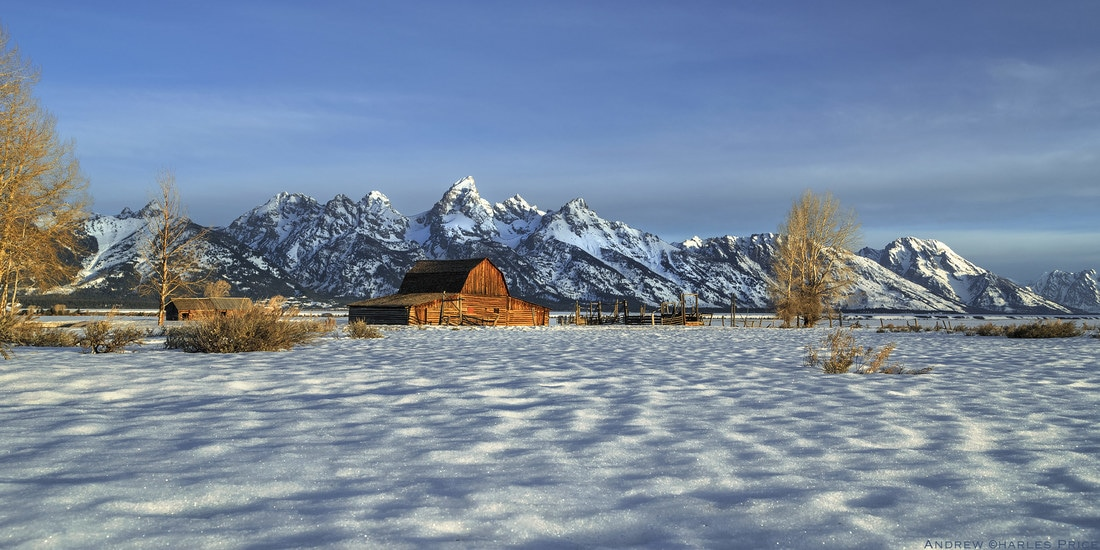 Wyoming Grand Tetons John Moulton Barn
