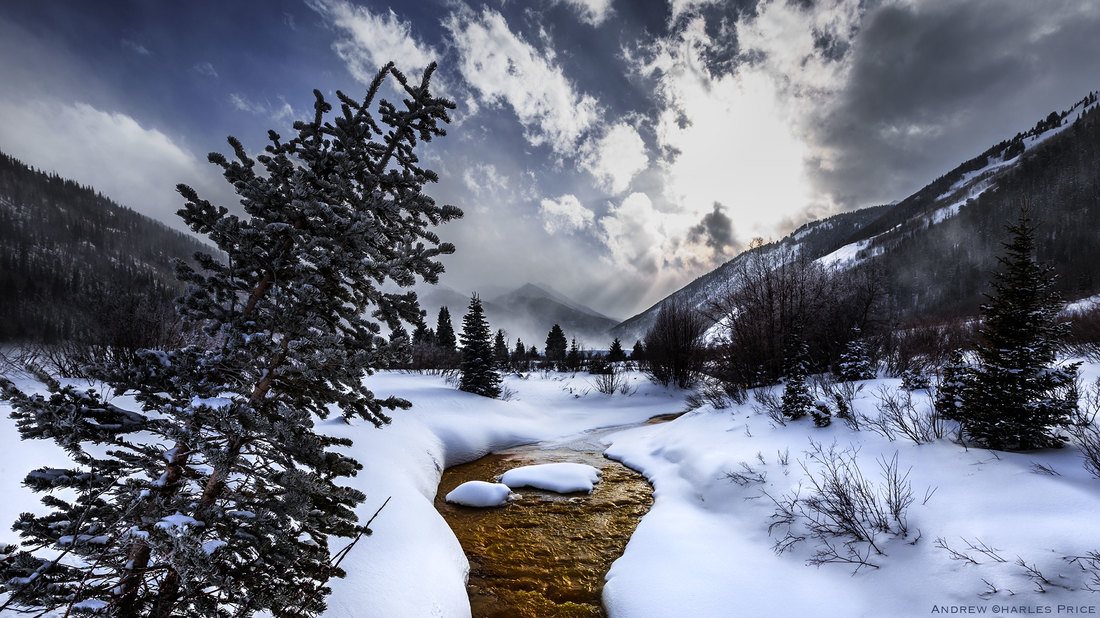 Colorado Winter Landscape