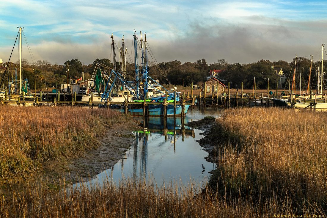 South Carolina Shem Creek