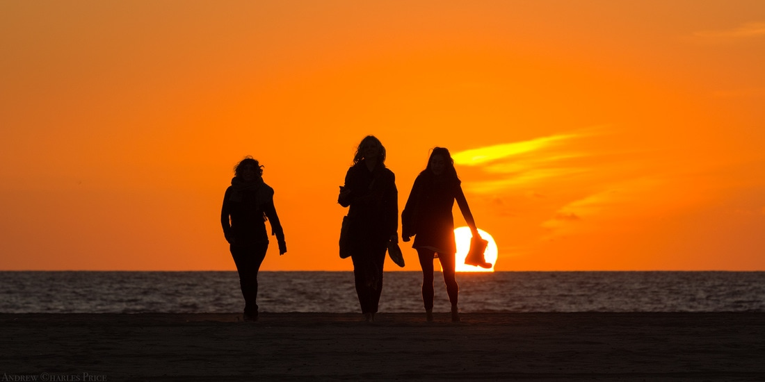 California Sunset Girls