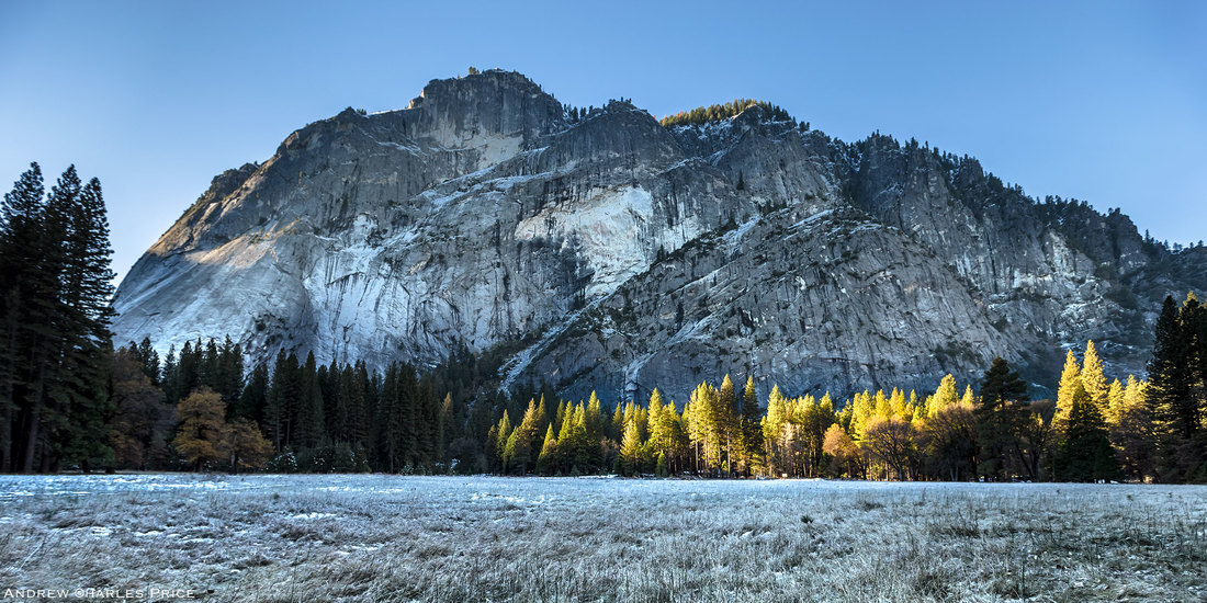 California Yosemite Valley Frost